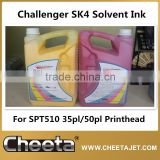 Original Challenger SK4 Solvent Ink for Infiniti machine FY-3278N SPT510 50pl Printhead Series