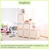 2016 new arrival multi color domiat furniture egypt wooden almira image house shape wood display shelf cubes bookcase