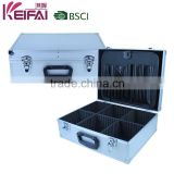 Factory Lowest Price Hard Shell Portable Aluminum Hairdressing Tool Case