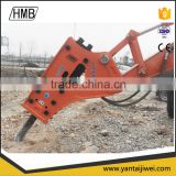 Side type HMB1350 fine mining hydraulic rock breaker