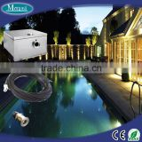 Swimming pool fibre optic sky star using with end fitting fiber and big power waterproof LED light engine