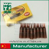 cigarette filter extra turbo 3 in 1 cigarette holder plastic brown new style 8piece