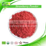 Natural Freeze Dried Fruit Powder/Certified Organic Strawberry Powder