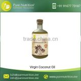 Cold Pressed Virgin Coconut Oil Available at Affordable Rate