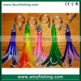 trolling fishing lure octopus baits game fishing with artificial bait fishing resin head trolling lure