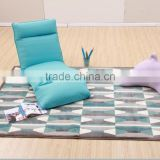 Elegant Blue Color Modern Fashion Fabric Recliner Lazy Sofa Sets For Outdoor Furniture