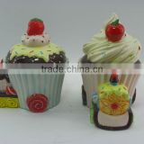 Hot Sale Ceramic Sugar Pot And Milk Pot Sets