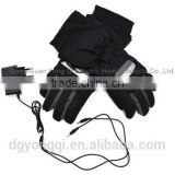 Good quality Heated gloves powered by 7.4V li-ion rechargable battery for Skiing