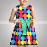 New Products Traditional Style Brand Design Latest Cotton Frock Design Dress For Baby Girl Shenzhen Factory