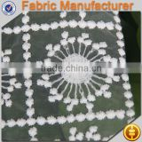 cicheng texitle supplier embroidery allover cotton cheap chemical lace fabric for furniture wholesale