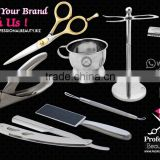 Barber Scissors, Razor Safety, Shaving Set, Barber Knife, Nail Cutter, Acrylic, Maicure Pwdicure, Beauty Tools Set