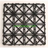 Interlocking plastic pad/decking board for outdoor WPC/flooring/DIY tile