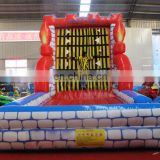 Inflatable sticky wall inflatable climbing wall sport game