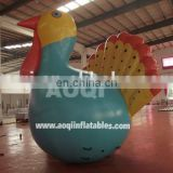 New design sealed inflatable peacock model for sale