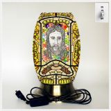 Desk lamp, creative lamp, decorative table lamp, LED table lamp, Jesus culture lamp (Jesus015)