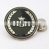 Best selling products metal customized logo football club pin badge
