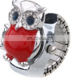 2014 fashion owl ring watch