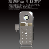 High Security And Quality Password Fingerprint Mechanical Key Door Intelligent Lock W5A