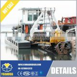 various model of used cutter suction dredger for sale