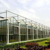 Glass Covering Botanical Greenhouse