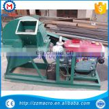 Diesel Powered Wood Shredder Wood Pallet Chipper Mobile Wood Crusher Made for sale In China