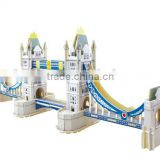 England building model London Tower bridge 3D model puzzle toys for adults