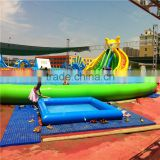 New Hot inflatable amusement water park,giant inflatable park for kids play,inflatable amusement park for sale
