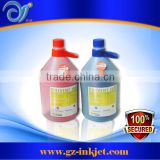 Original Flora Ink for Spectra Polaris 15pl head for Flora, Gongzheng Solvent printer for Outdoor Large Format Printing