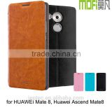 MOFi Original Funda Celulares Leather Flip Case for Huawei Mate 8 NXT-AL10 Smartphone, Back Cover for Huawei Ascend Mate8