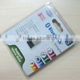Mini usb bluetooth dongle with csr chipset/usb bluetooth dongle with csr chip set)