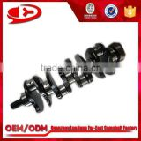 Diesel Engine Crankshaft type 4BD1 for engine spare parts                                                                         Quality Choice