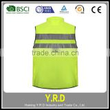 Wholesale Cheap Summer Safety hi viz bike reflective cycling running vest