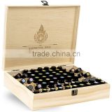 Gift & Craft Industrial Use and Accept Custom Order original color essential oil wooden box                                                                         Quality Choice