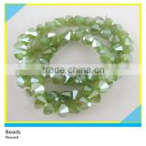 8*8 mm Peridot Faceted Glass Crystal Loose Beads Bicone Stone Beads Strands In Bulk