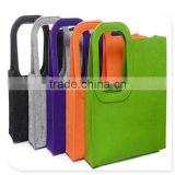 felt shopping bag with different color and size