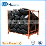 Truck tire storage metal pallet warehouse tyre racking                                                                         Quality Choice