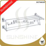 SSTN6200 Bathroom and toilet double aluminum towel rail brackets                                                                         Quality Choice