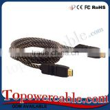 Factory Price Customized Size Premium High End Compatible HDMI Cable For Blu Ray Player