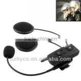 V2-500A 500m Bluetooth Interphone Headsets for Motorcycle Helmet, Max Support: Two Riders by Bluetooth System