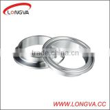 hygienic stainless steel SS304/SS316L clamp ferrule pipe fitting