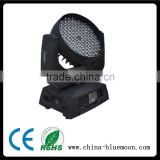 108pcs led RGBW auto head lights Washer moving head lighting All directions motive lamp for dj