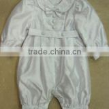 Hot sale! formal wholesale satin christening gowns for boy