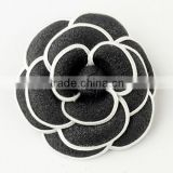 Oldies Black & White Flower Hair Clip Wedding Hair Accessories