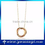 Professional Manufacturer Classics design simple vintage jewelry simple ring round cheap necklace chains N0222