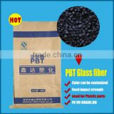 Modified High quality Carbon Black FLame Retardant PBT V0 plastic granule PBT plastic resin/pellets