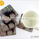 Customized promotional gifts blank mdf sublimation coasters placemats