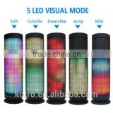 5 LED Light Visual Display Mode Powerful Sound 4.0 10W Hi-Fi Portable Wireless Bluetooth Speaker