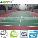 modified silicone PU badminton court surface material