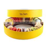 New design donut shaped paper gift chocolate box