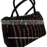 Wholesale handmade Moroccan kilim bags genuine leather and kilim - new style kilim handbagref6